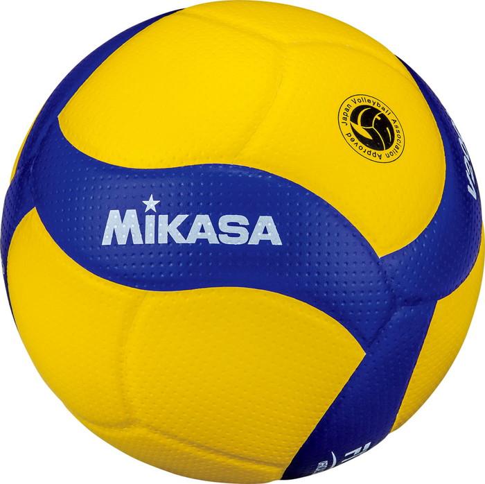 ミカサ(MIKASA) バレーボール 国際公認球 V200W (検定球 試合球 5号球 ネーム可 一般 高校) (※北海道のみ別途送料600円)