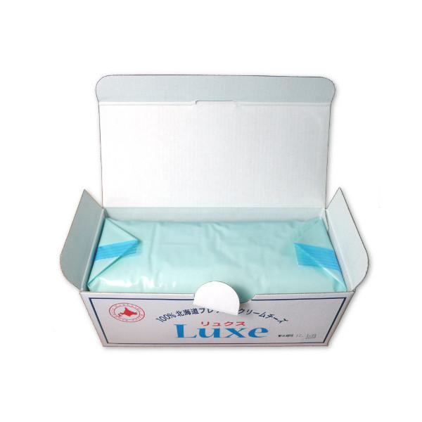 北海道乳業 リュクス クリームチーズ 1kg×12個