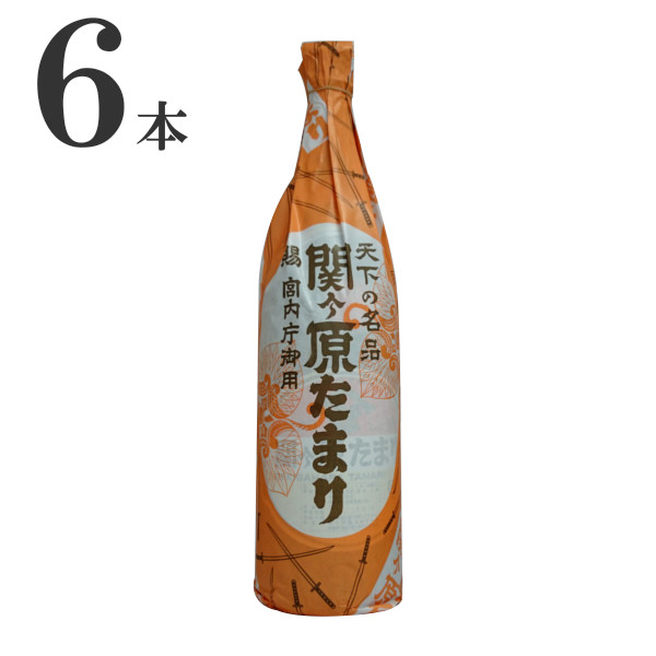 関ヶ原醸造 たまり醤油 1.8L×6本
