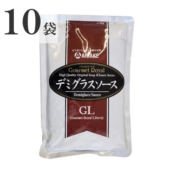 業務用 ハンバーグソース ステーキソース 激安 アリアケジャパン 1kg×10袋 新作入荷!! デミグラスソース GL