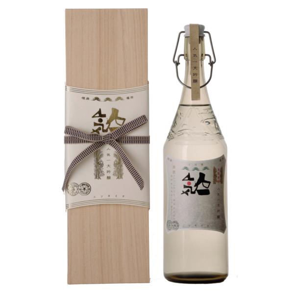 人気酒造 人気一 大吟醸 オリジナルボトル・桐箱入 1800ml