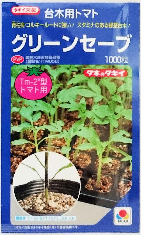 【タキイ種苗】台木トマト グリーンセーブ 1000粒