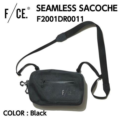国内正規品 F CE. エフシーイー 毎日激安特売で 営業中です SEAMLESS SACOCHE シームレス サコッシュ リップストップナイロン 防水性 F2001DR0011 ワンサイズ Black タイムセール NYLON 1L CORDURA