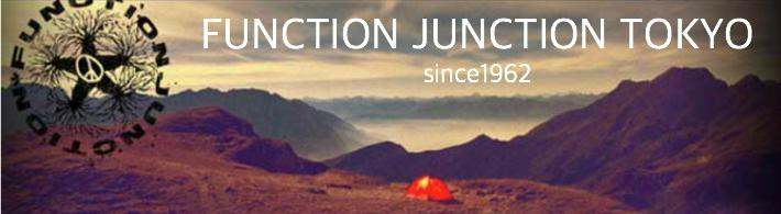 FUNCTION JUNCTION:新しくオープン致しました!アウトドアグッズを幅広く取り揃えております!