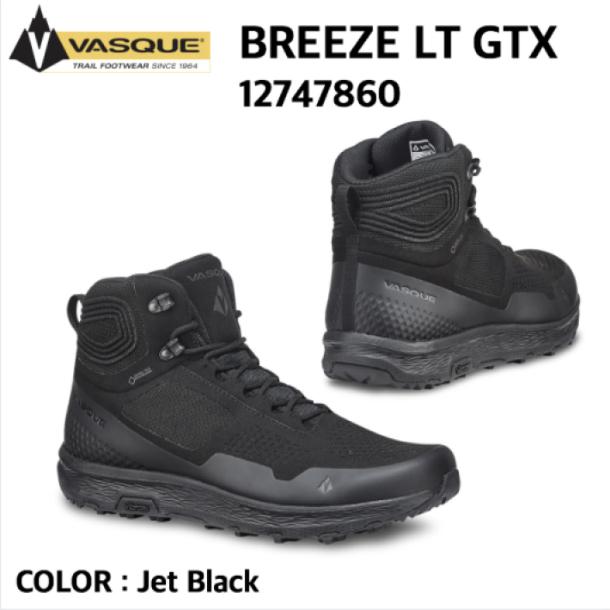 【VASQUE バスク】 BREEZE LT GTX ブリーズ LT GTX 12747860 Jet Black トレッキング ハイキング 国内正規