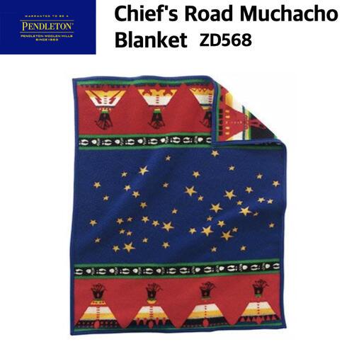 【PENDLETON ペンドルトン】チーフロード ムチャチョブランケット 毛布 ラグ ウール アメリカ製 ZD568 国内正規
