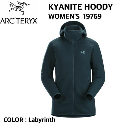 【ARC'TERYX アークテリクス】KYANITE HOODY WOMEN'S カヤナイト フーディー ウィメンズ ジャケット アウター ミッドレイヤー フリース ストレッチ 19769 国内正規