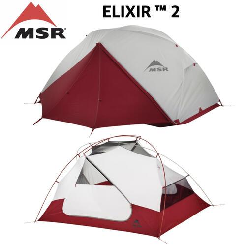 【MSR エムエスアール】ELIXIR2 エリクサー2 テント 軽量 3シーズン 2人用 保証書付 国内正規
