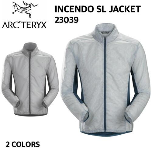 【ARC'TERYX アークテリクス】INCENDO SL JACKET インセンドSLジャケット メンズ ジャケット アウター ジョギング トレイルランニング トレーニング 23039 国内正規