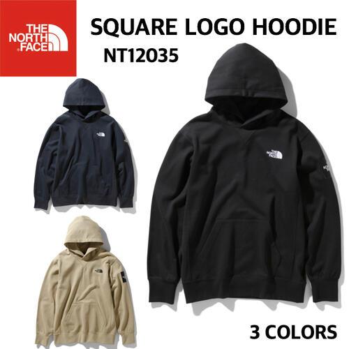 【THE NORTH FACE ノースフェイス】Square Logo Hoodie スクエアロゴフーディ スウェット メンズ アウトドア スポーツ タウンユース 速乾 NT12035 国内正規