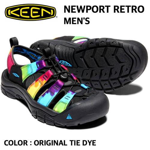 【KEEN キーン】NEWPORT RETRO ニューポート レトロ メンズ 軽量 国内正規