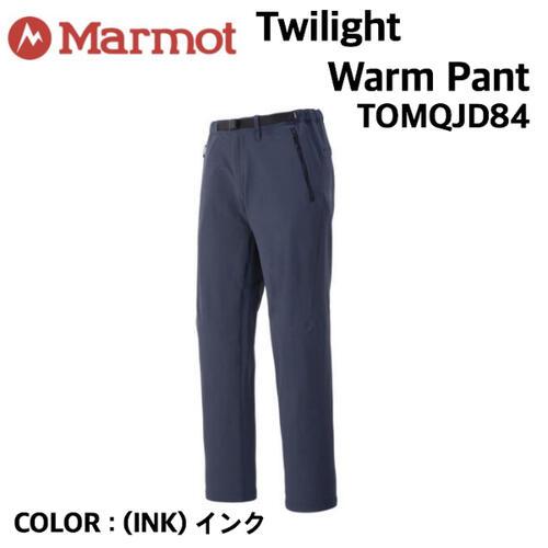 国内正規品 WEB限定 Marmot マーモット 供え Twilight Warm トレッキング インク トワイライトウォームパンツ Pant TOMQJD84