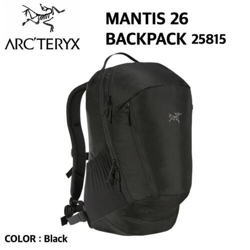 【ARCTERYX アークテリクス】MANTIS26 マンティス26 バックパック リュック リュックサック A4 26L 7715 国内正規 5%OFF