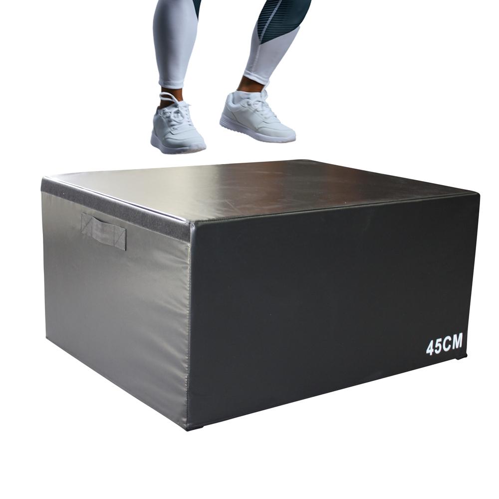 ジャンプボックス【45cm】ソフトタイプ パワーとスピードのアップ プライオメトリック・トレーニング