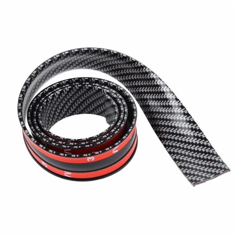 汎用ドレスアップモール 幅3cm×2.5m カーボン調 プリント 年末年始大決算 豊富な品 カットOK バンパーガード 長さ2.5m CIT325C モールプロテクター