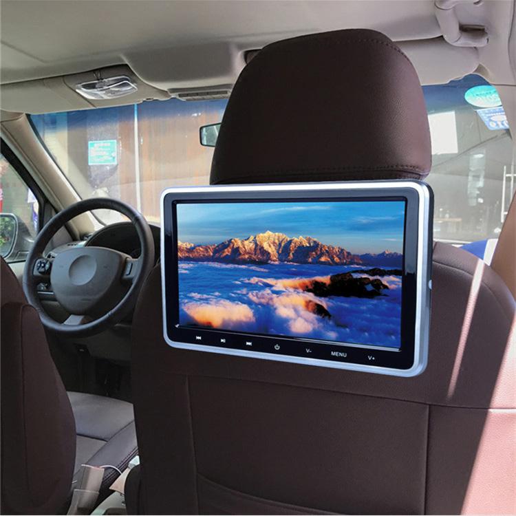 10.1インチDVDプレーヤー 後部座席用 タッチボタン CPRM対応 HDMI USBメモリ/SDカード ゲーム搭載 レジューム機能 2台連動可 高画質 取付簡単 ORG1018D