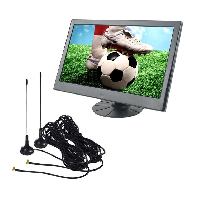 フルセグ 搭載 10.1インチモニター 地デジ HDMI RCA入力 iPhoneなどスマホ接続可 スピーカー内蔵 miniB-CASカード付き 12-24V汎用 ORG1018DTV