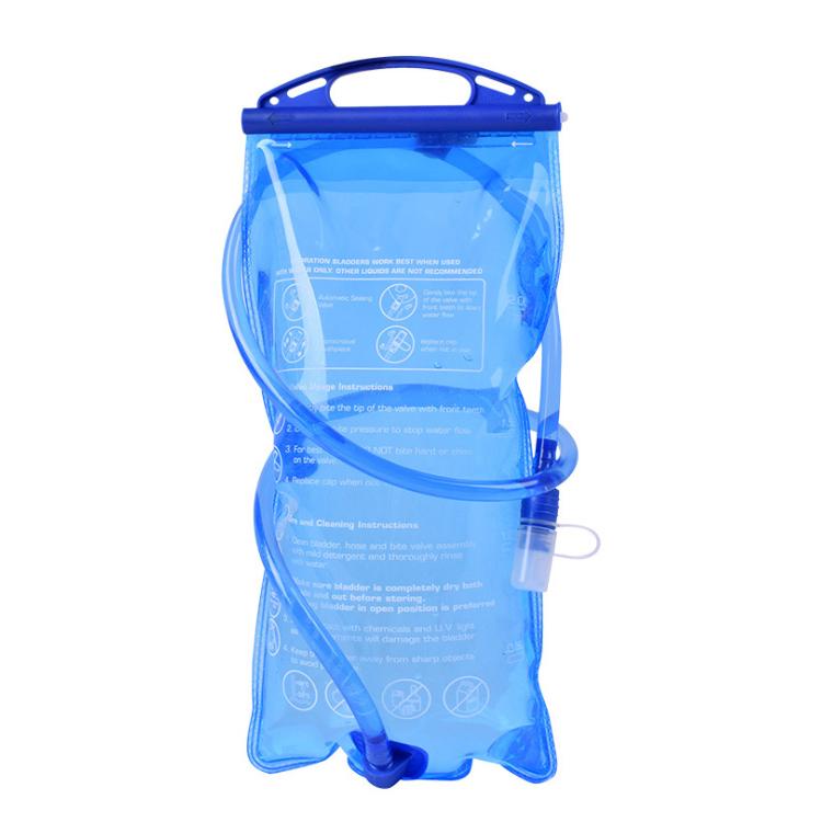 大好評です グリップ付き 水補給袋 2L 2リットル ハイドレーションウォーターキャリー 商舗 水筒 水分補給 給水式 WP2019L2