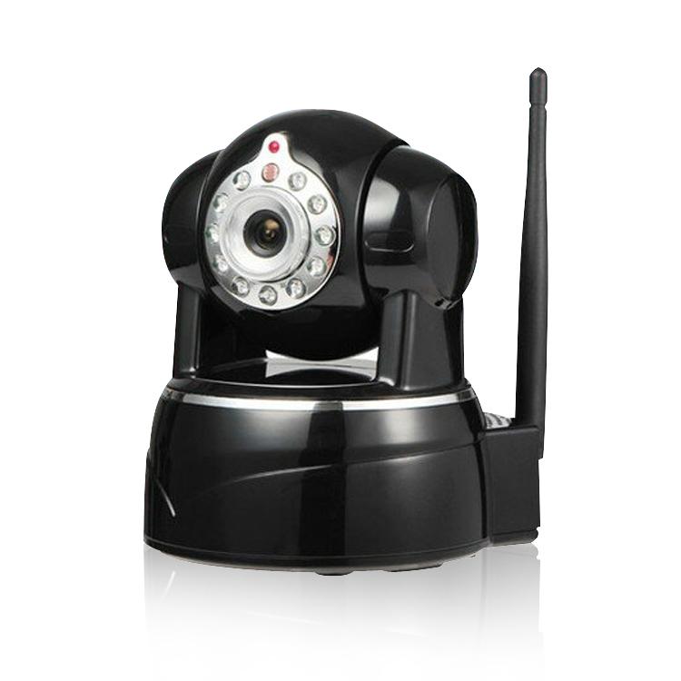 ネットワークカメラ 遠隔操作 ベビーモニター 64GBmicroSD対応 赤外線暗視 1080P/H.264 P2P 防犯カメラ 620GA