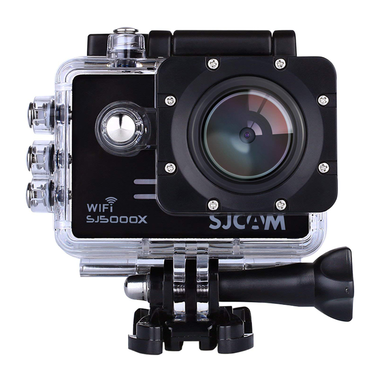 アクションカメラ SJCAM正規品 4K 1080P WiFi搭載 170度広角レンズ ウェアラブルカメラ 30m防水 ハウジング バイク 自転車 車 ドラレコ SJ5000X