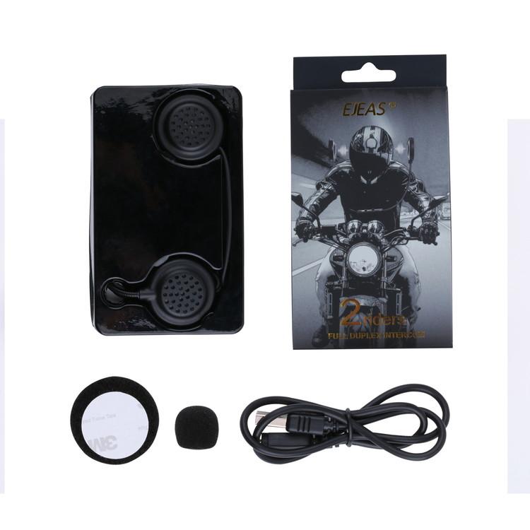 EJEAS 軽量バイクインカム 爆買いセール 無線インカム Bluetoothインターコム 2機同時通話 高音質 ヘッドセット 百貨店 作業用など アウトドア ツーリング AUX対応 EJEAS-E200 スキー