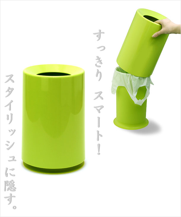 ideaco考虑共TUBELOR chuburashimpurudezaingomi箱子trash can。