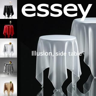 送料無料! essey エッセイ イリュージョン サイド テーブル 【カラー:8色】 Illusion SideTable 衝撃的デザイン 。