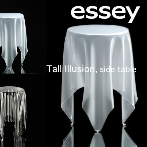 送料無料! essey エッセイ トール イリュージョン 細長いサイド テーブル 【カラー:3色】 Tall Illusion SideTable 衝撃的デザイン 。