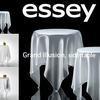 送料無料! essey エッセイ グランド イリュージョン 一回り大きなサイド テーブル 【カラー:3色】 Grand Illusion SideTable 衝撃的デザイン 。