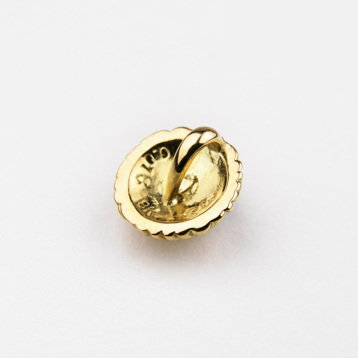 ファニー スロー・メディスンホイールスモールペンダント 【GOLD×SAPPHIRE】 ネックレス メンズ レディース 男女兼用 ユニセックス 18K ゴールド 金 サファイア プレゼント ギフト アクセサリー Slow Jewelry
