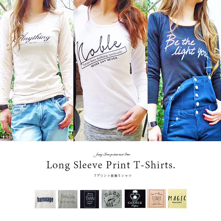 93d2c76038b82 Logo print long sleeves T-shirt Lady's print print t shirt t shirt American  casual message normal standard casual sports long sleeves white black gray  ...