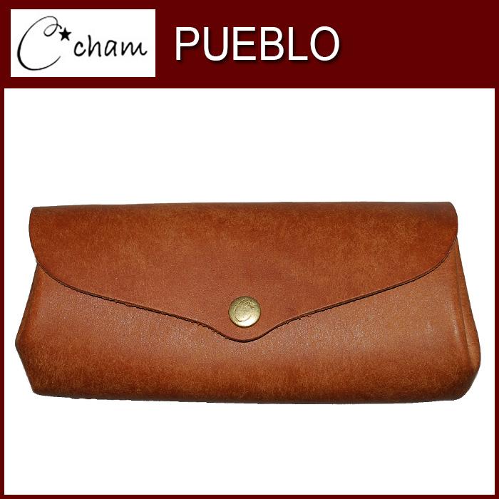 チャム ウォレット プエブロ CMSP002 CAMEL CHAM 製品完成後水分を加えて擦むことによりボリュームがある自然な仕上がり。 財布 革プレゼント