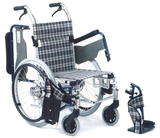 【ポイント5倍! 1/24 09:59迄】車椅子/送料無料/非課税アルミ製車いすWD1N 高機能 自走式 敬老の日