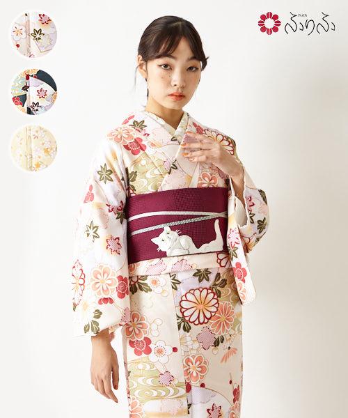 大人気!お買い得な洗える着物<br>【EC限定】セレクト着物C きもの kimono お手頃 洗える着物 きれいめ