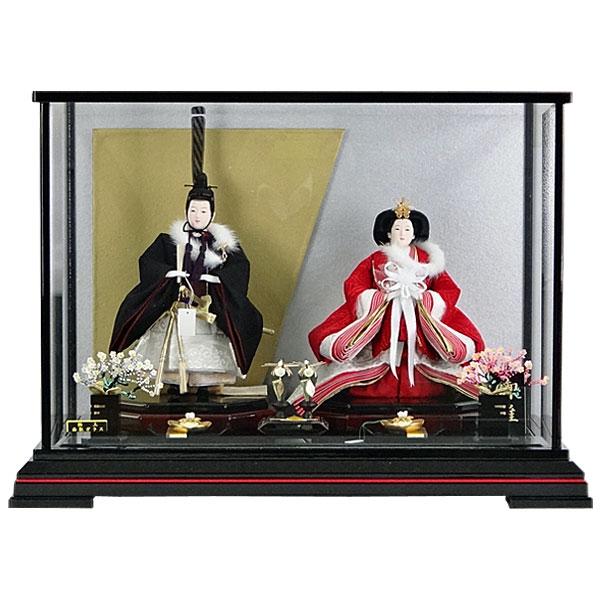 雛人形 ひな人形 親王飾り 収納飾り雛飾り 節句人形 二人飾り 親王収納飾り no-59 お雛様
