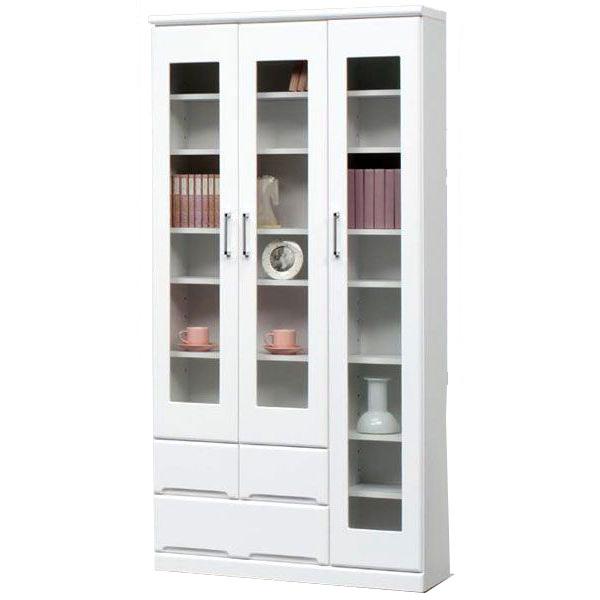 開梱設置 送料無料本棚 書棚 フリーボードハイタイプ 90cm幅 「クリープ4」