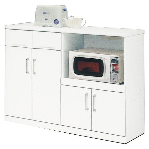 開梱設置 送料無料キッチンカウンター 120cm幅 「クリスタル3」国産 7月上旬の入荷予定