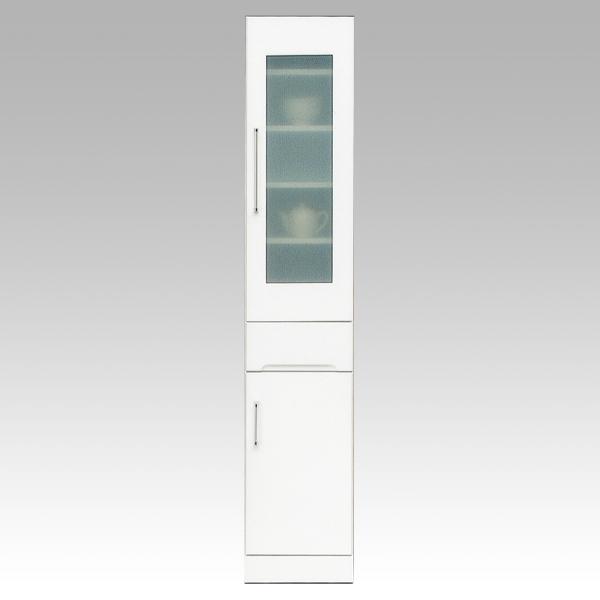 \ポイント増量&お得クーポン/食器棚 隙間家具 スリムボード35cm幅 「クリスタル3」 国産送料無料