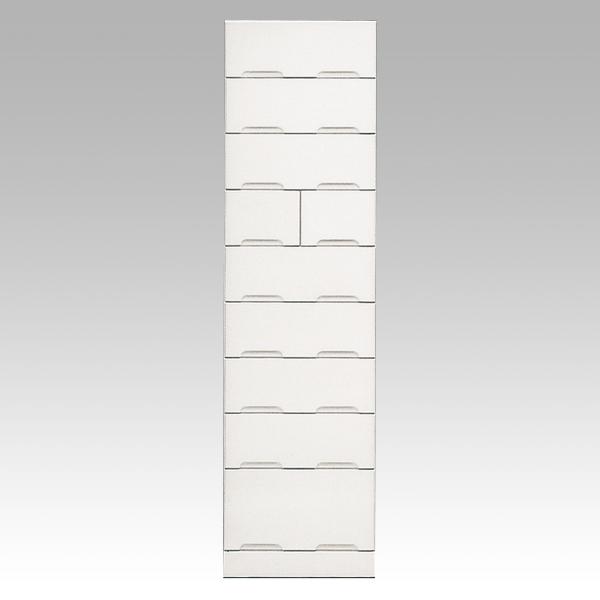 開梱設置 送料無料タンス タワーチェスト 50cm幅「クリスタル3」 国産