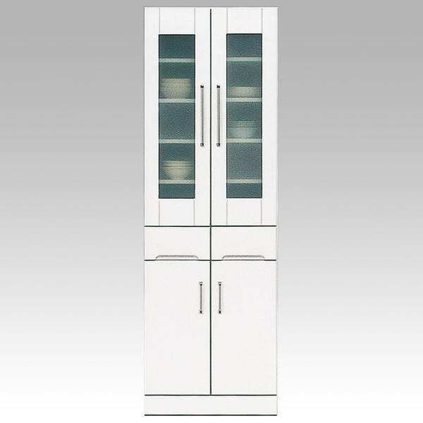 開梱設置 送料無料食器棚 ダイニングボード60cm幅 「クリスタル3」 国産