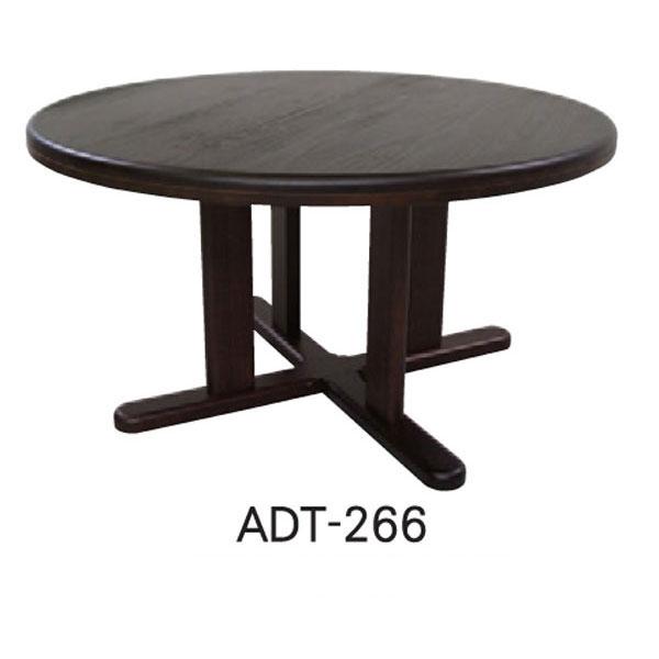 テーブル ダイニングテーブル 国産天然木 110cm幅 「ADT-266-110」丸型 送料無料