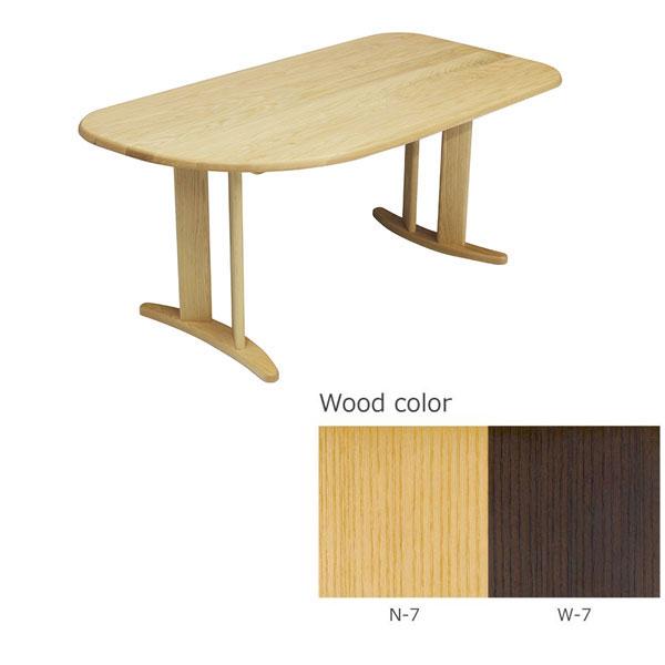 【6/1~6/3 ポイント5倍以上!】 テーブル ダイニングテーブル 国産天然木 「ADT-273-150」送料無料 開梱設置
