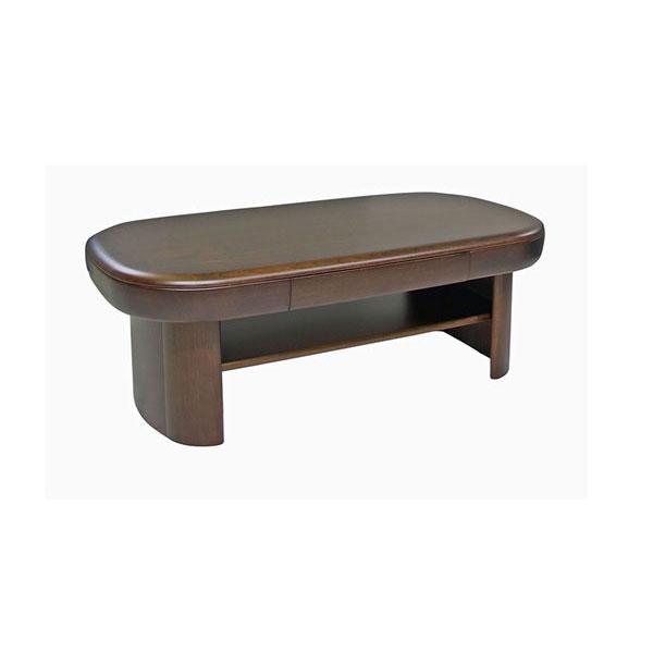 \ポイント増量&お得クーポン/送料無料 開梱設置センターテーブル リビングテーブル 国産天然木 120cm幅 完成品 「AT-956」引出し付