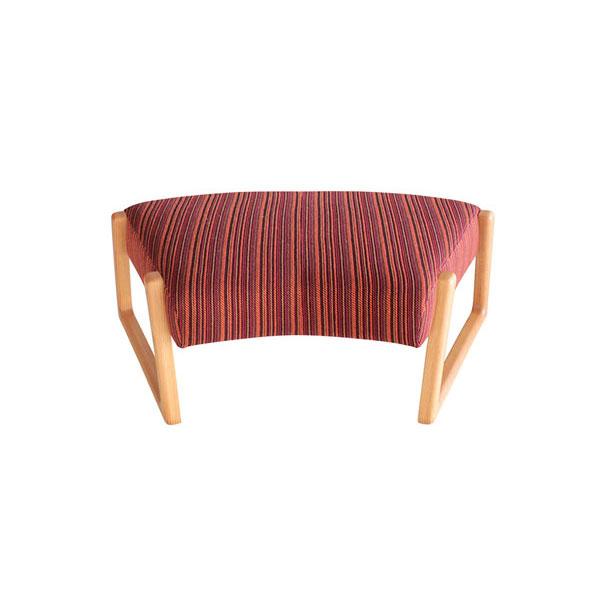 オーダー品 ベンチ 107cm 布張りカラー対応4色 完成品 国産「トイス」」 送料無料
