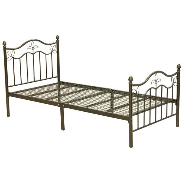 シングルベッド 「KB-08」カジュアル ホワイト ブラック ピンク ※ブラックとピンクは入荷未定