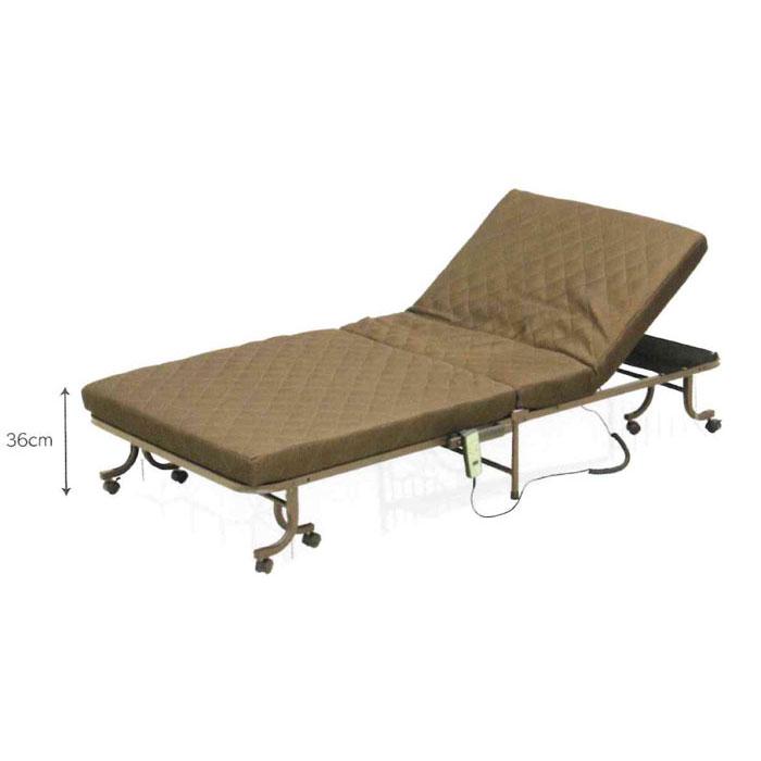 収納ベッド 折畳み電動ベッド 収納電動ベッド マットタイプ SMOT-350 送料無料 玄関渡し