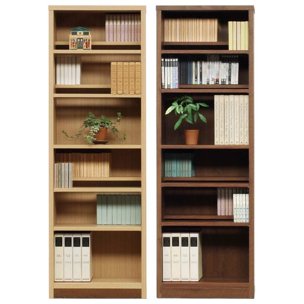 本棚 書棚 ブックシェルフ コミックシェルフハイタイプ 日本製 60cm幅 2色対応 イフ【代引不可商品】