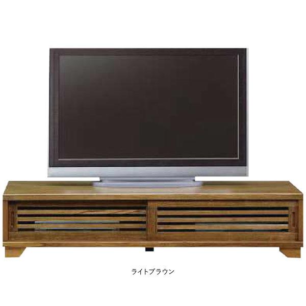 テレビボード 150cm幅 TVボード 国産引き戸 ロータイプ完成品 送料無料