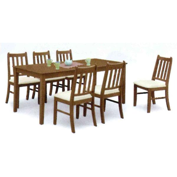 ダイニングテーブルセット7点セット 6人用組み立てします 送料無料 開梱設置 返品保証 結婚祝 販促品