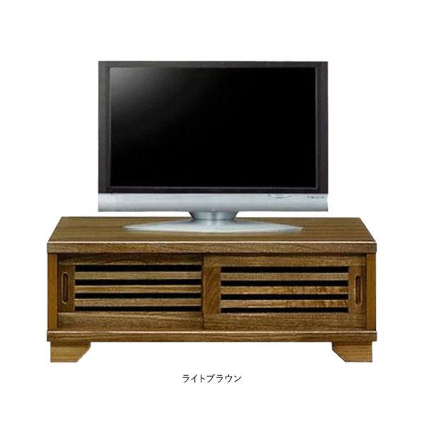 テレビボード TVボード完成品 テレビ台 ロータイプ国産 引き戸 90cm幅 送料無料
